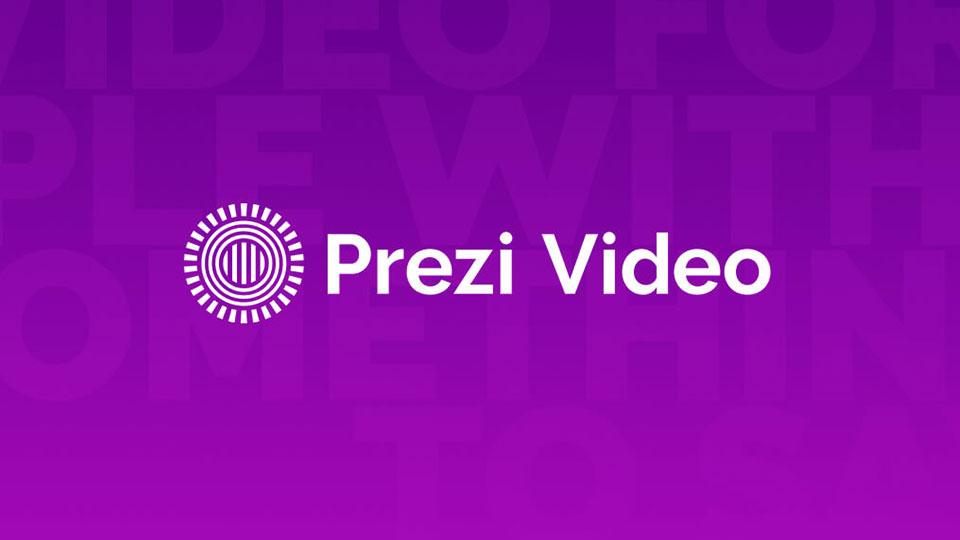 Prezi video ロゴ